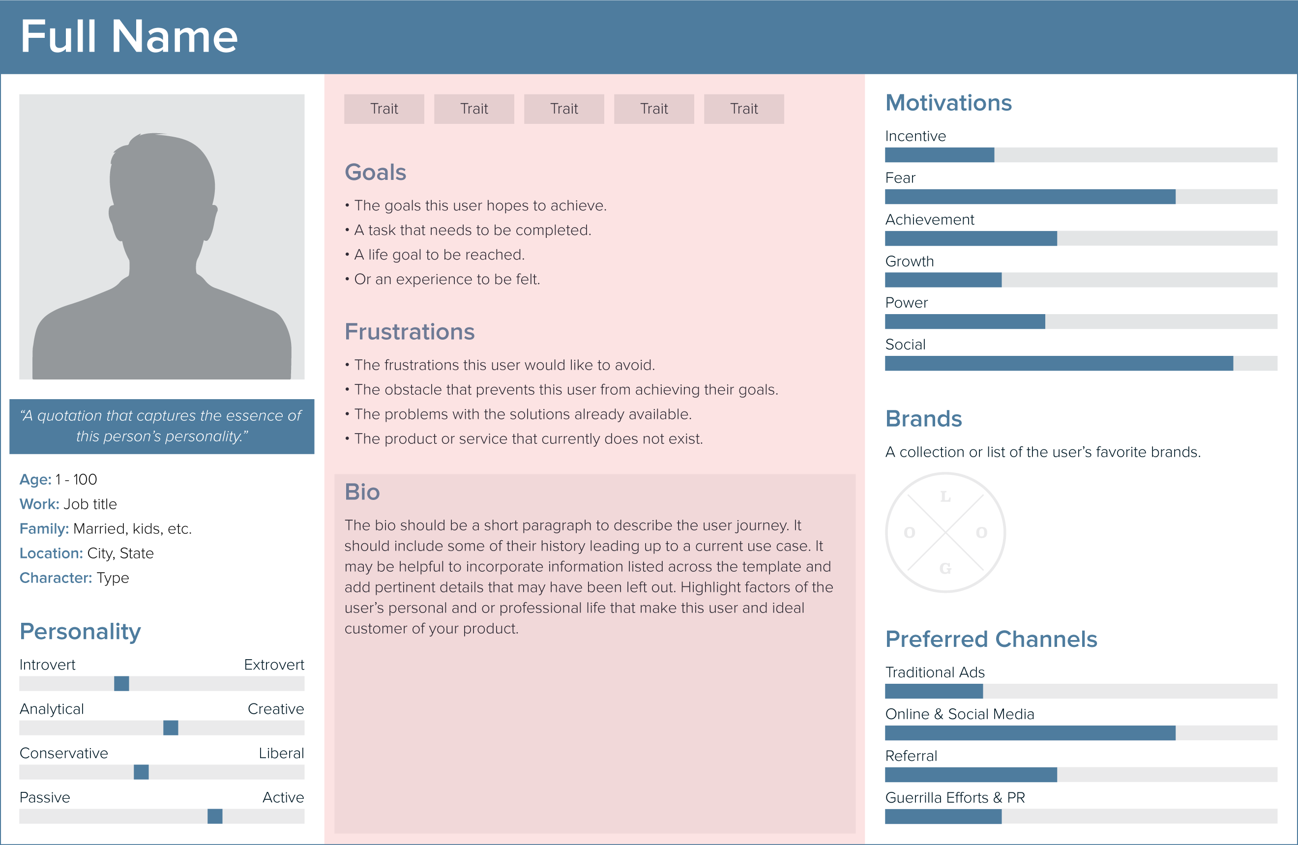 Tips for Creating Strong User Persona (With Free Template)