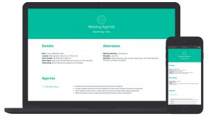 Meeting Agenda Template & Example