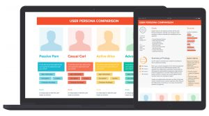 User Persona Comparison Template & Example