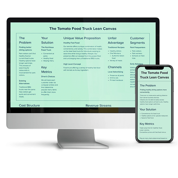 E-Commerce Business Model Canvas