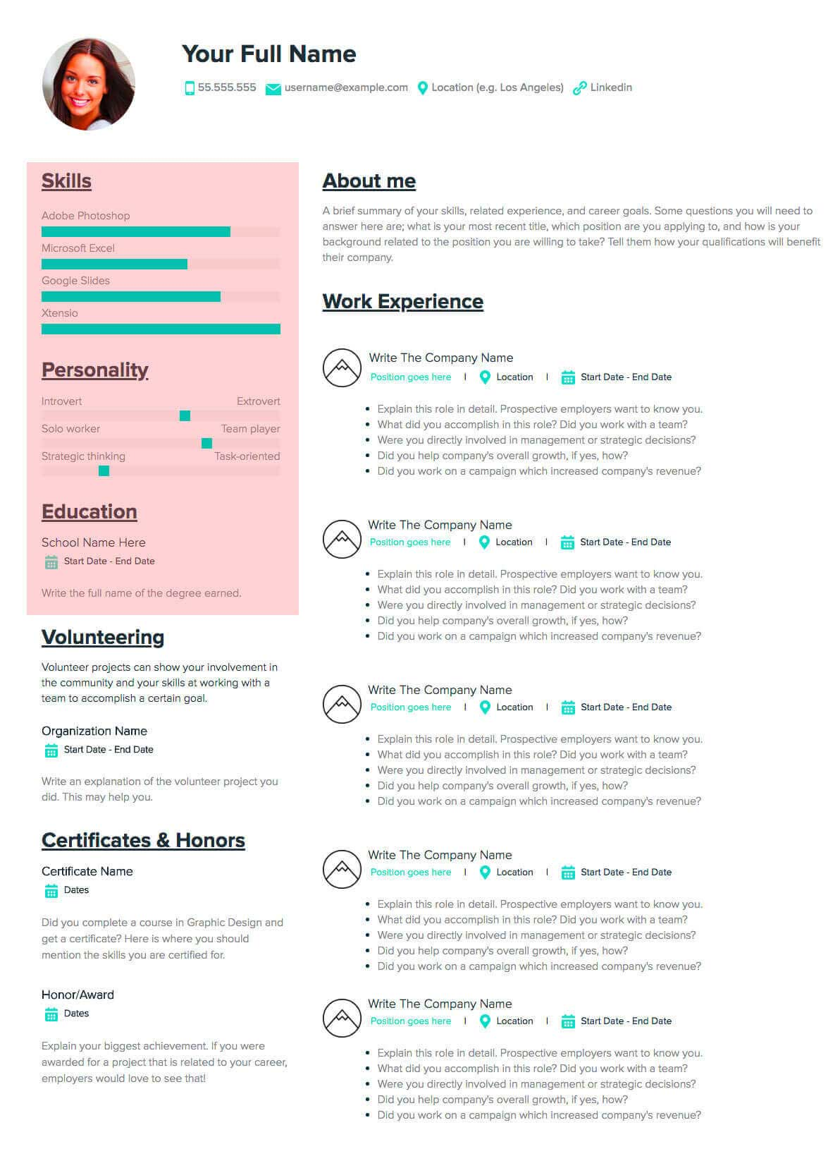 How To Make a Resume: A step-by-step guide & sample
