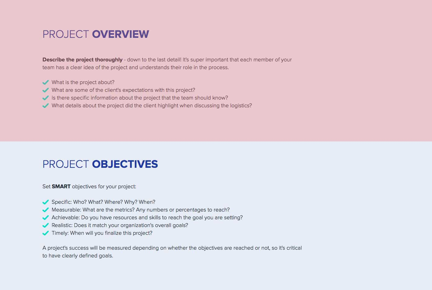 How to Write a Project Brief: A step by step guide | Xtensio
