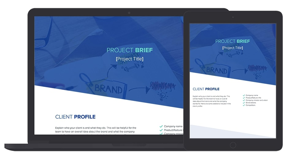 Project Brief Template