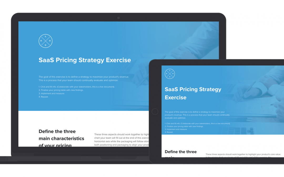 SaaS Pricing Strategy Exercise Template