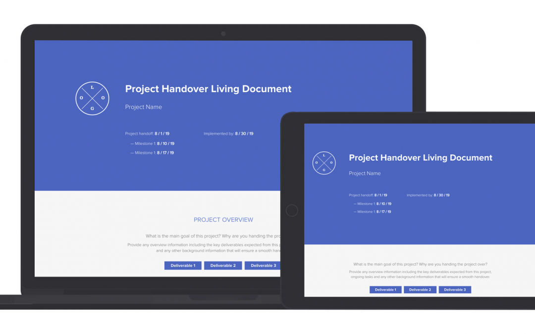 Project Handover Living Document Template