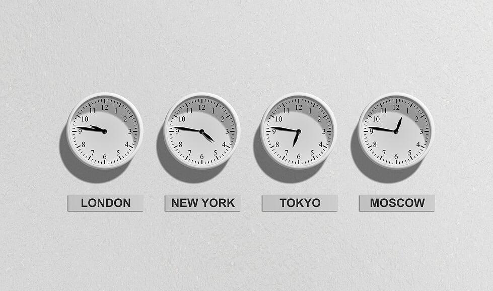 Xtensio works across 8 time zones