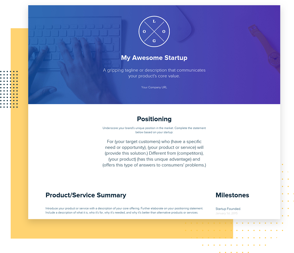 Top 10 One Pager Startup Templates To Convey 8