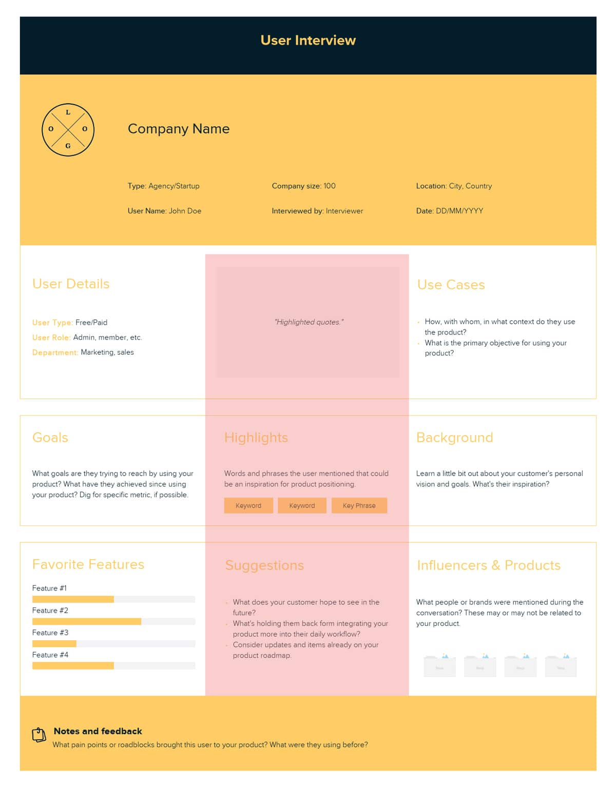 Product Canvas | Xtensio