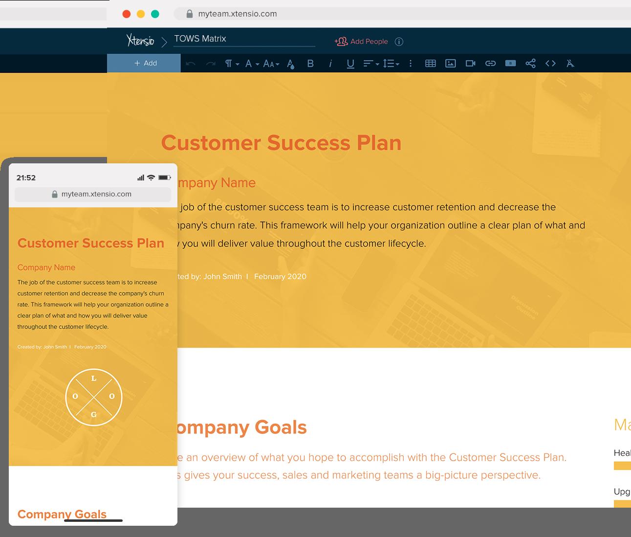 Customer Success   Xtensio